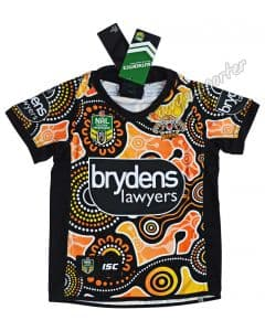 Wests Tigers 2018 NRL Kids Indigenous Jersey