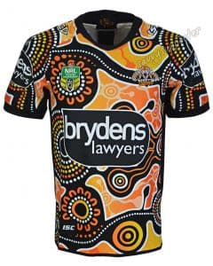 Wests Tigers 2018 NRL Mens Indigenous Jersey