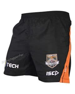 Wests Tigers 2019 ISC NRL Mens Training Shorts