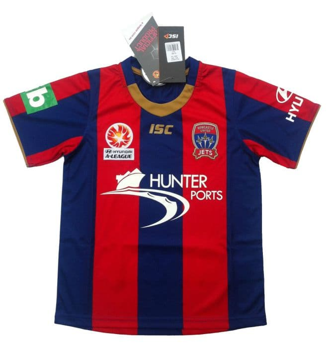 new concept 93f0a 5778e Newcastle Jets Kids Home Jersey