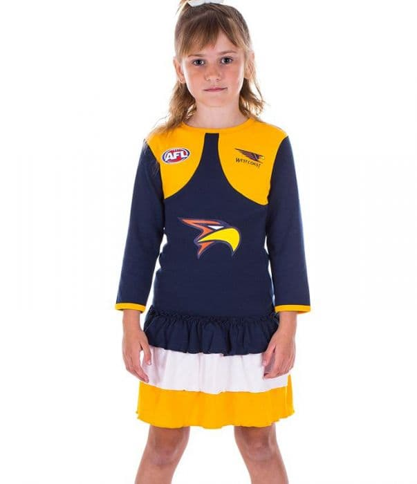 meet hot sale get online West Coast Eagles 2018 AFL Girls Dress