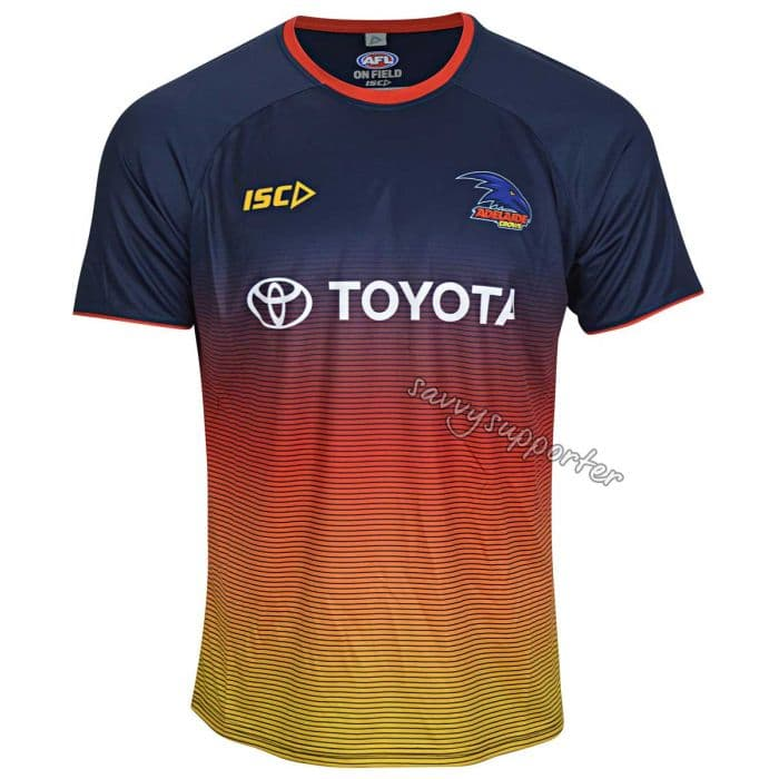 Adelaide Crows 2019 AFL Navy Training Shirt