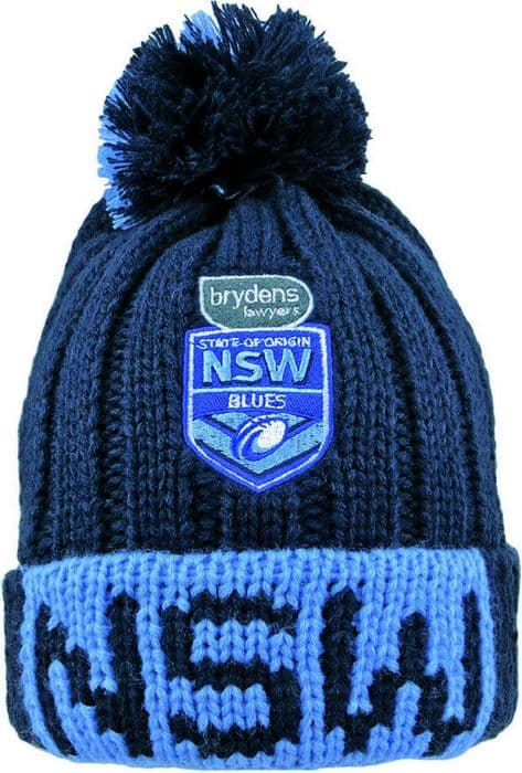 9c8fdc8db NSW Blues State of Origin 2019 Hundo Beanie