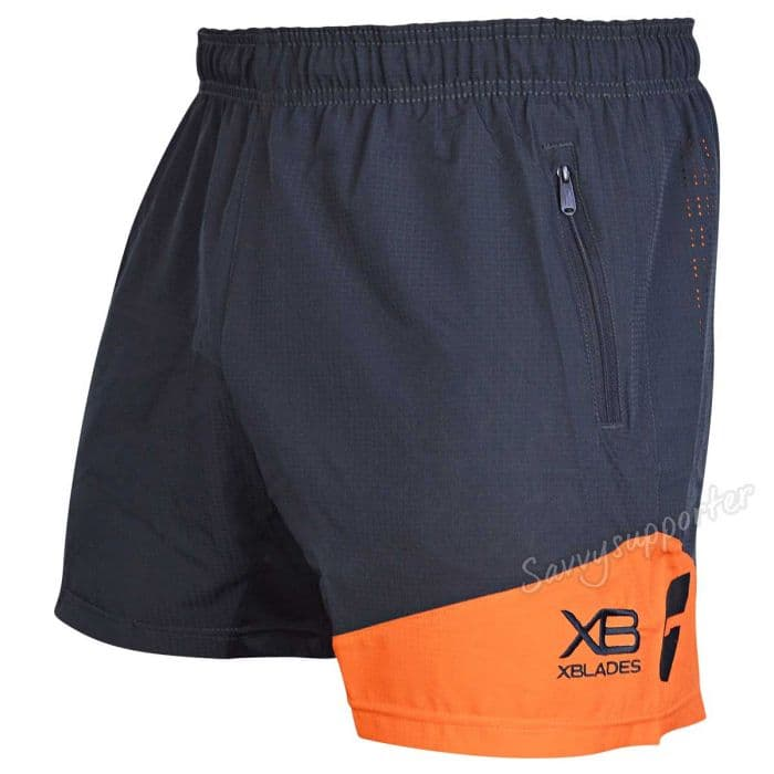 b654e0c3e6312 GWS Giants 2019 AFL Mens Training Shorts | GWS-TSH-L19 | SavvySupporter
