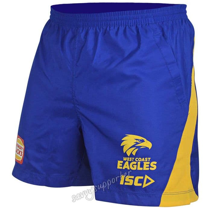 f8d48a74d1c77 West Coast Eagles 2019 ISC AFL Mens Training Shorts | SavvySupporter