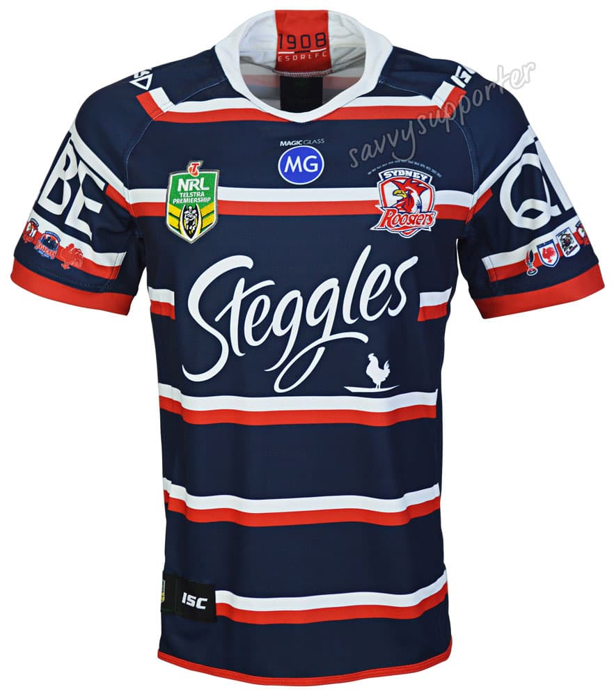 99b4a47fa0e Sydney Roosters 2018 NRL Heritage Jersey Mens & Kids Sizes BNWT | eBay